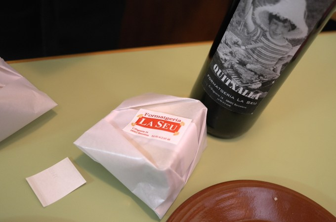 Cheese to go from La Seu