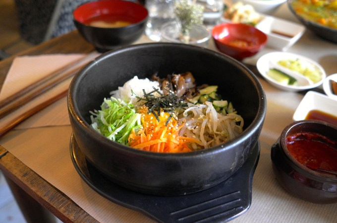 Bibimbap at Koryo
