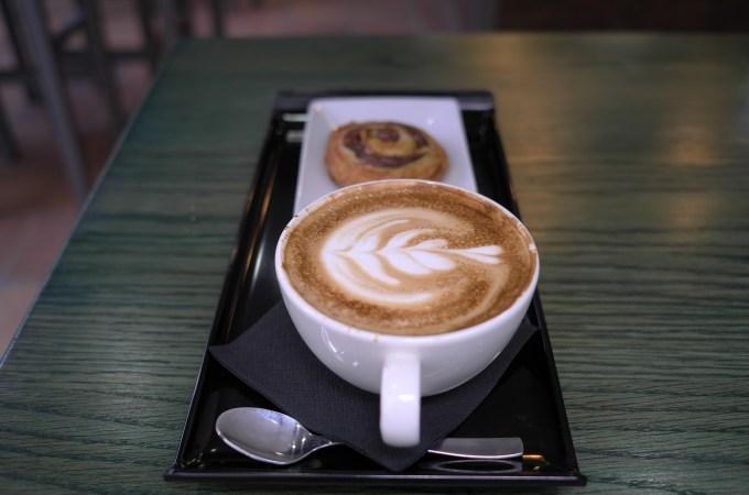 Coffee at Animal Coffee Bar