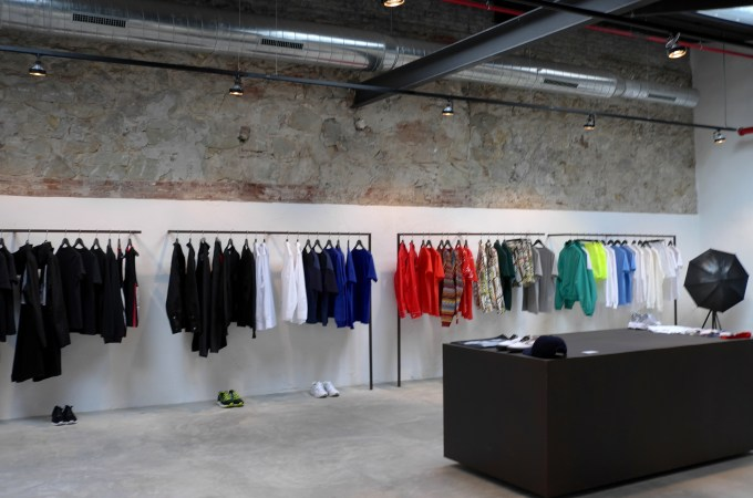 Men's Concept store at Werhaus Barcelona