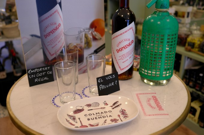 Vermouth and bespoke plates
