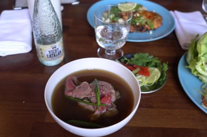 Pho soup at Tete