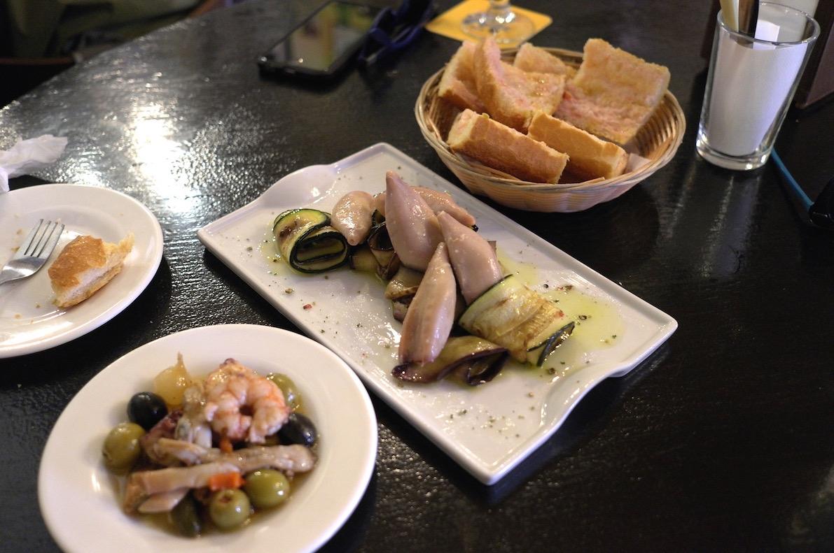 Conservas at Bar Bodega Quimet