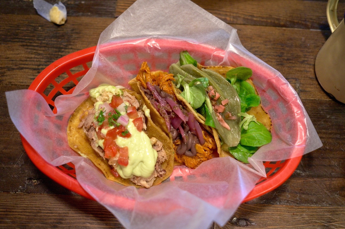 The tacos at Pikio taco