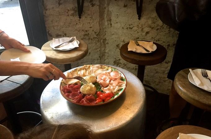 Lecca Baffi cold cuts platter