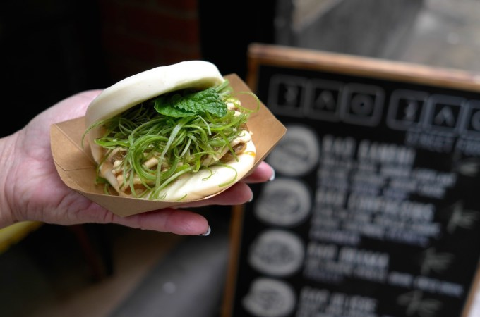 An example of a yummy Bao Bao Buns