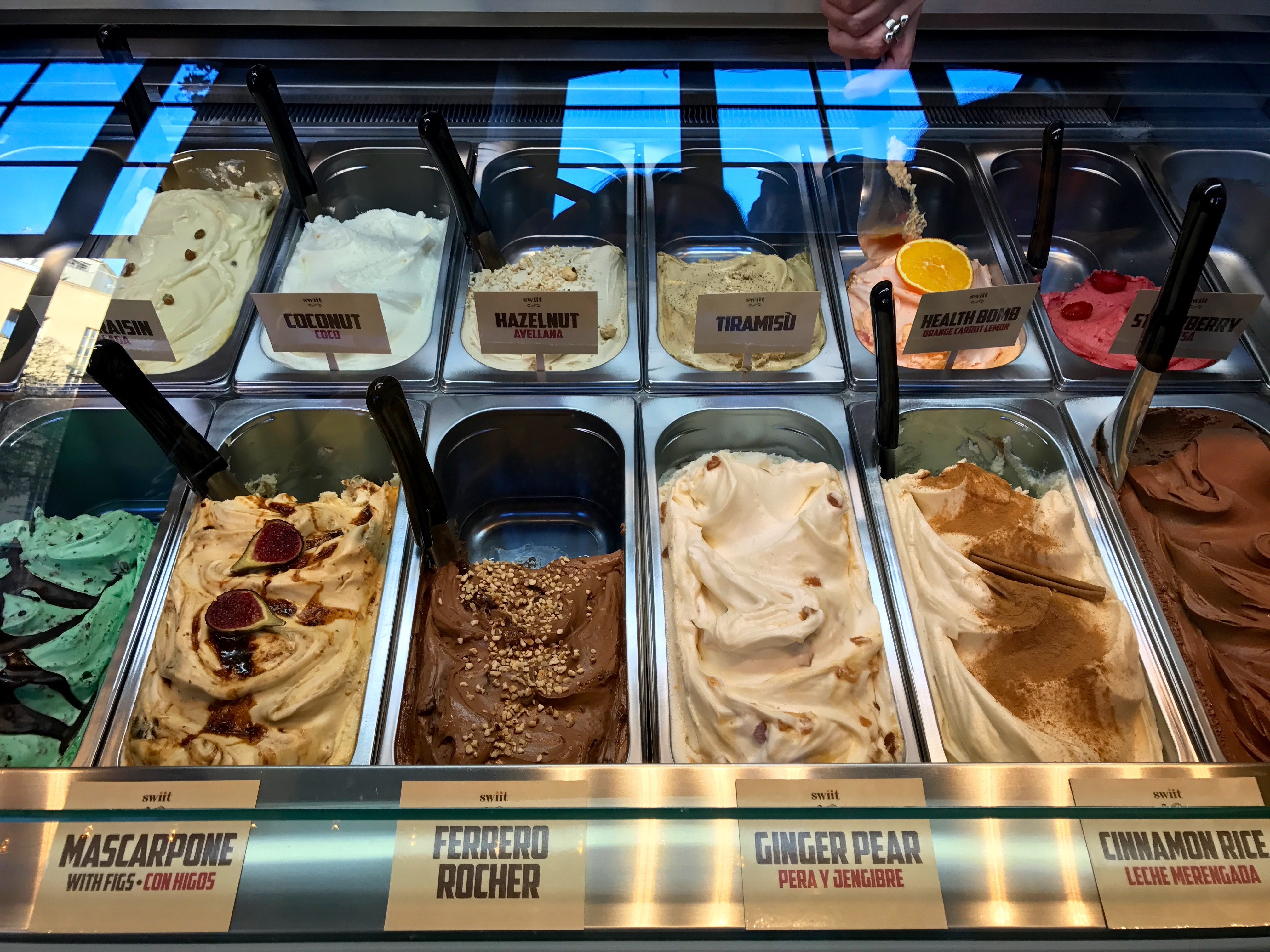Flavours at Swiit Ice Cream