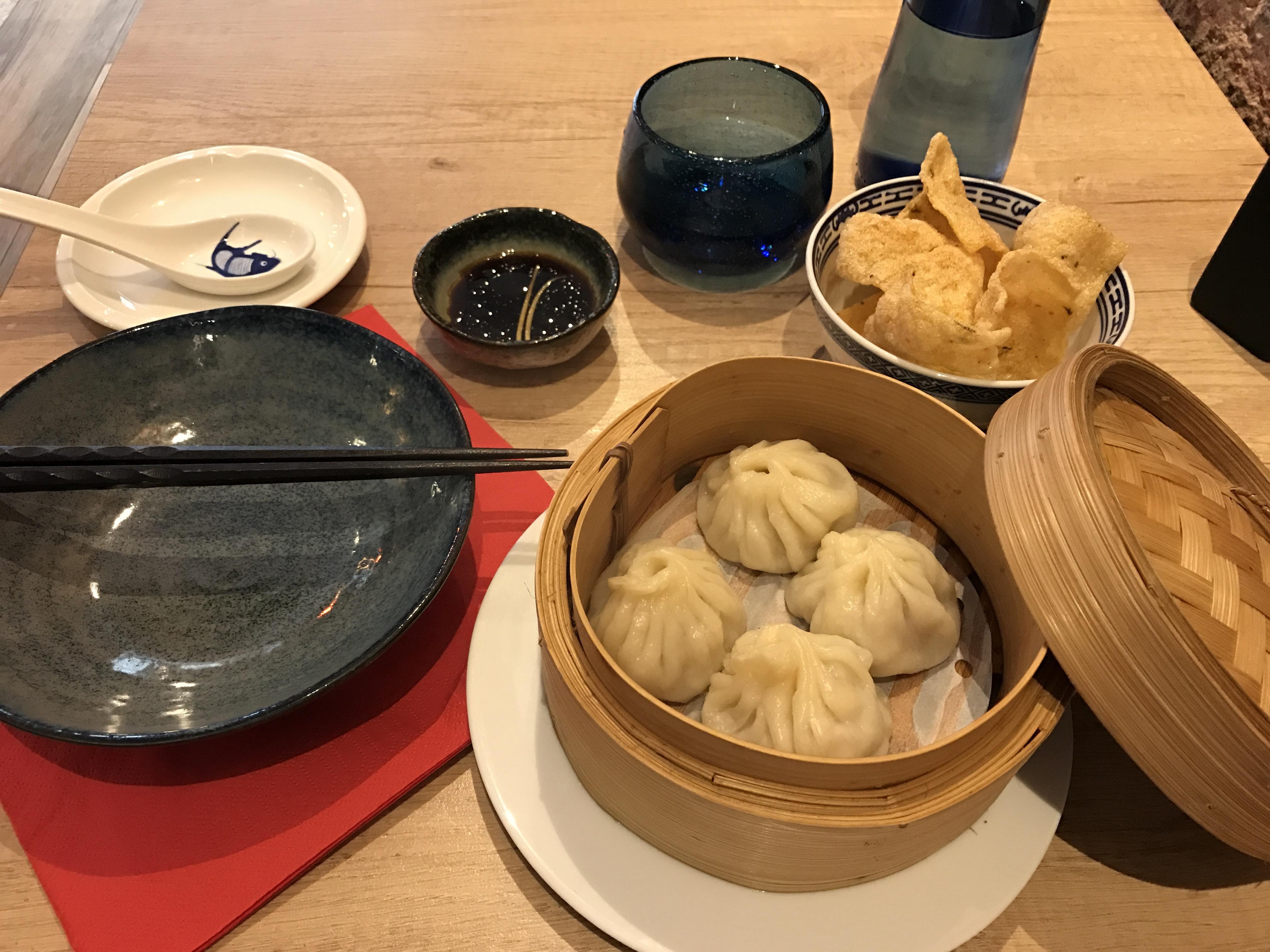 Dim sum at Gangnam Chinese