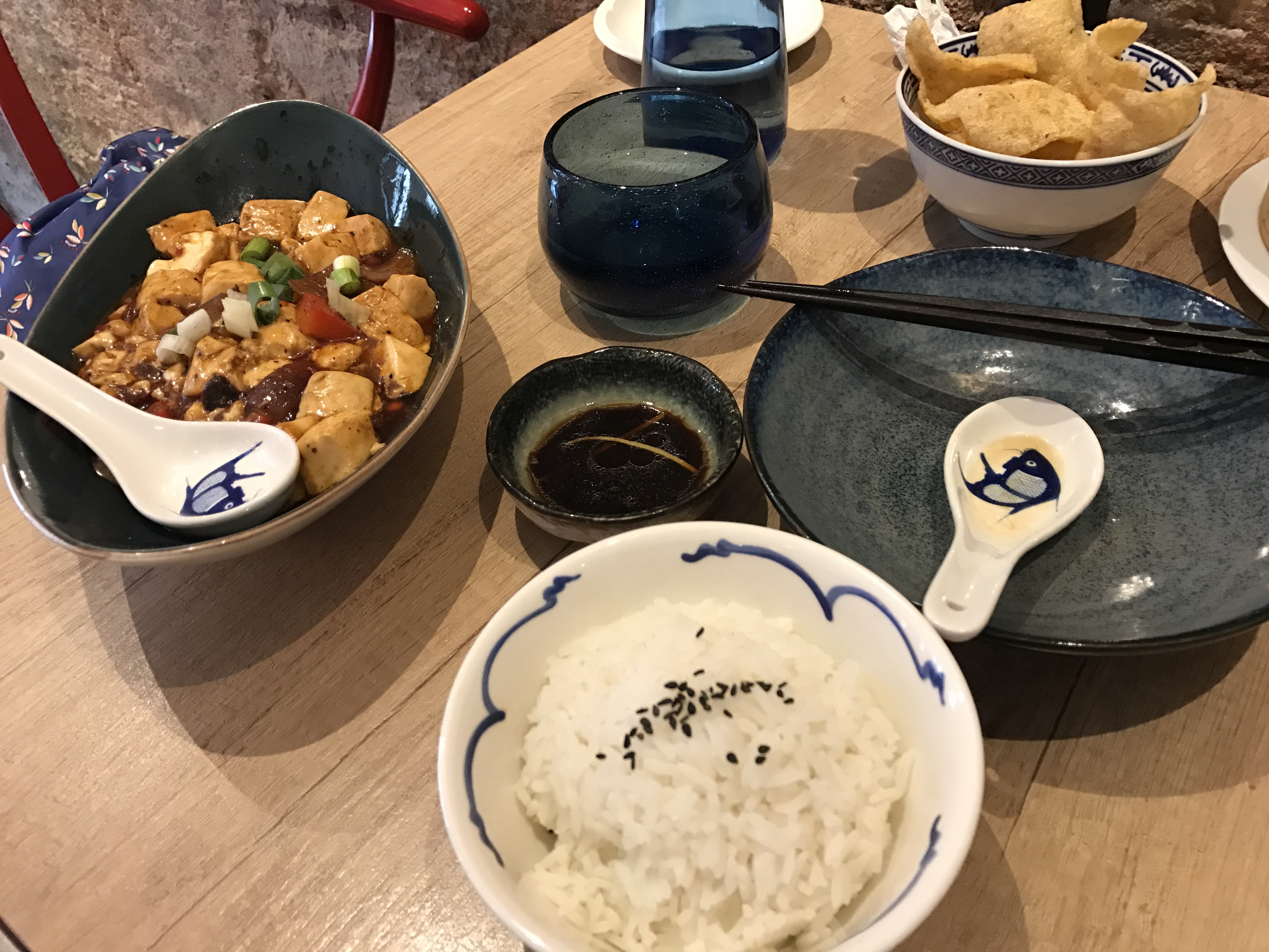A selection of dishes Gangnam Chinese