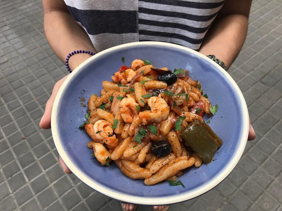 Pasta Dual Cafe Sant Antoni