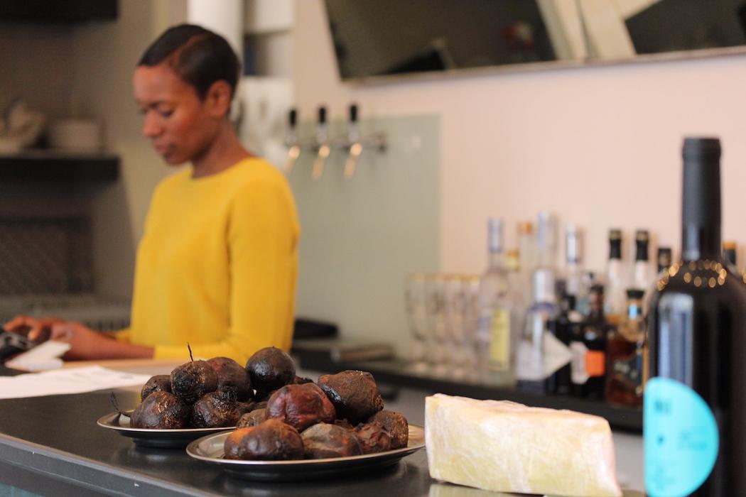Vita at the bar of Levante