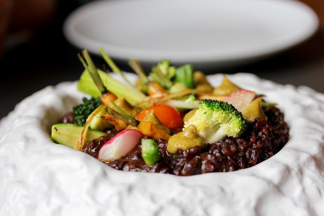 Rice dish at Llamber Restaurant El Born