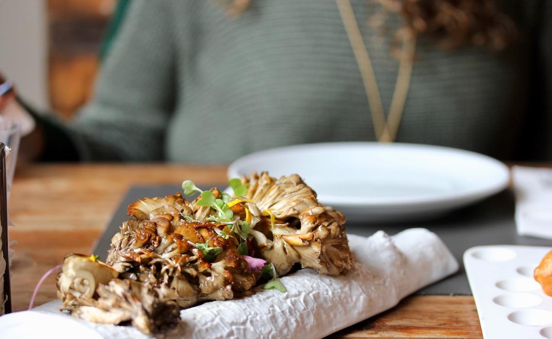 Fun mushrooms at Llamber Restaurant El Born