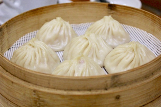 Delicious dumplings at Uniko Chinese