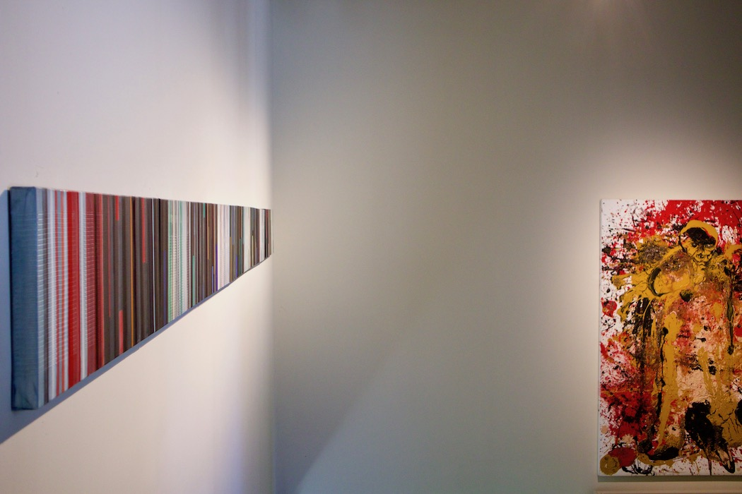 Catalan artist exhibition in Poblenou