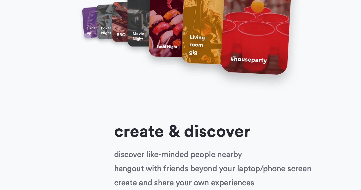 A blurb from the Lemonade Social App