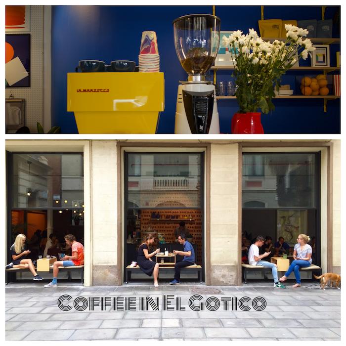 Coffee in El Gotico : Barcelona Coffee Guide
