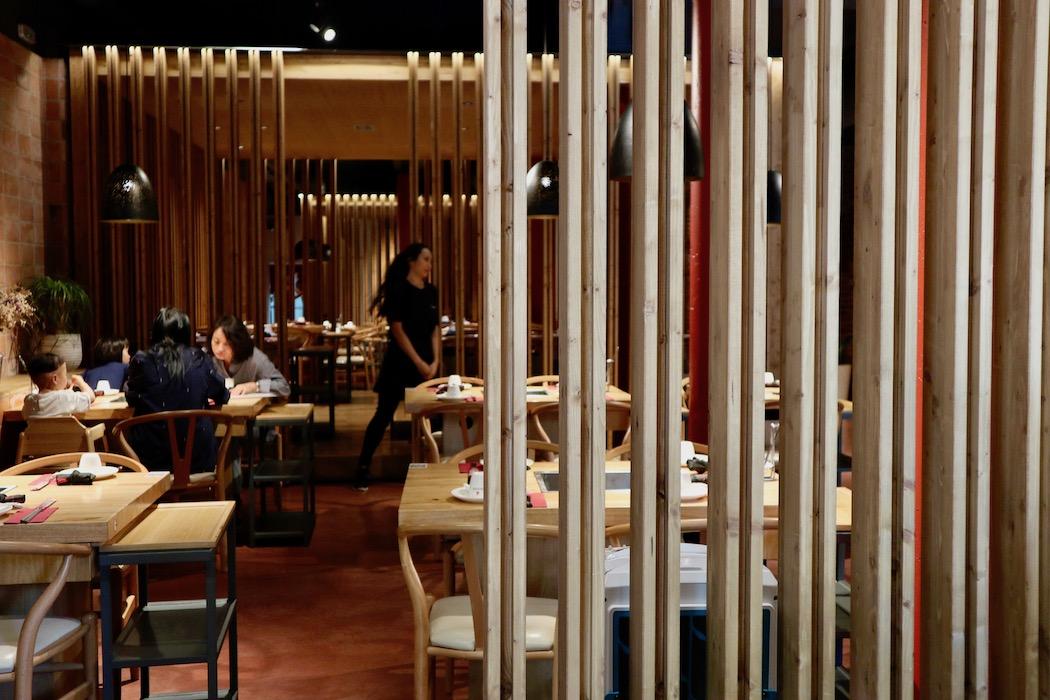 Interior at Chiongqing Liuyishou Hotpot