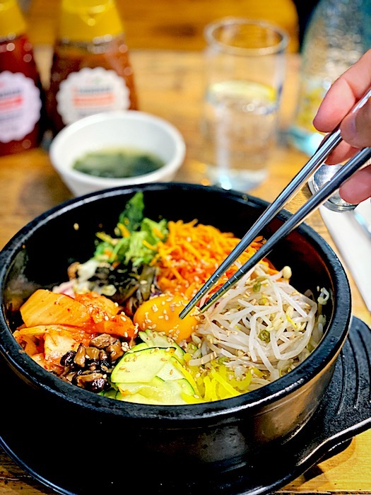 Bibimpap at Modu Cafe in Gracia