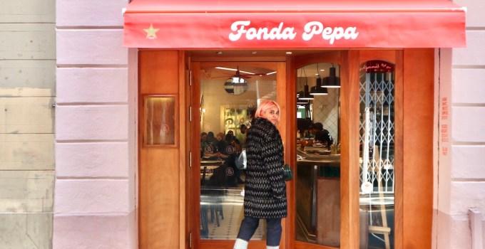 Fonda Pepa, Catalan, Gràcia
