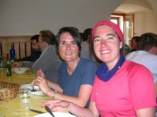 Carole (left) and Karine