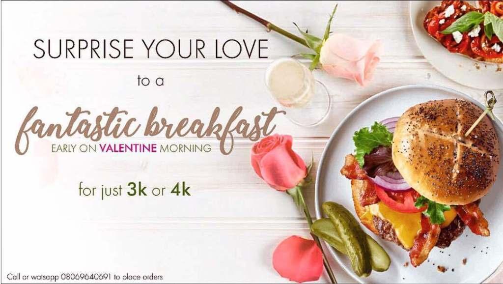 Chef Ebun Breakfast valentine
