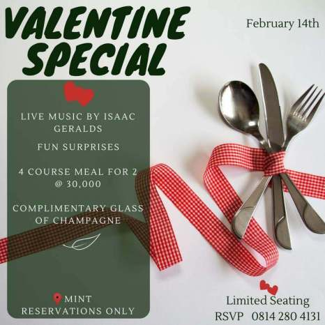Mint by Eat Green Valentine Special