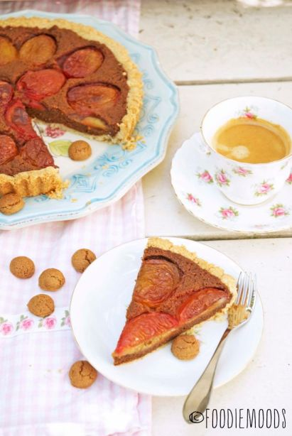 recept Miss Foodie zomerse kruidnootjestaart
