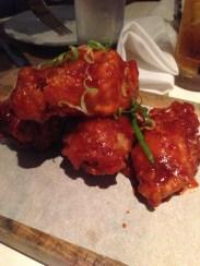 Korean BBQ wings