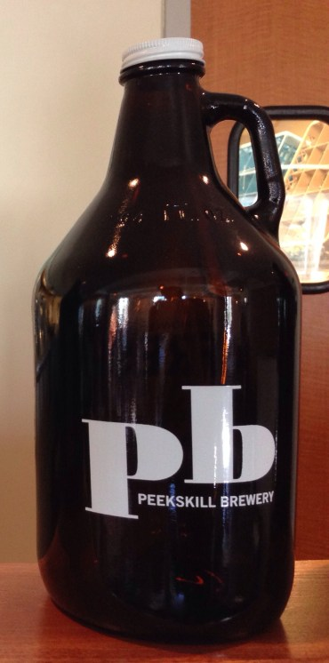 We didn't bring a growler home this time, but next time we might!