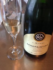 Love the sparkling wine at Mawby!