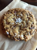 Salted chocolate chip cookie from Storyville