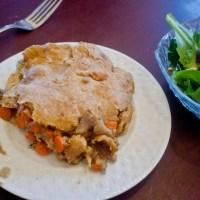 Ancient Grain Lazy Chicken Pot Pie