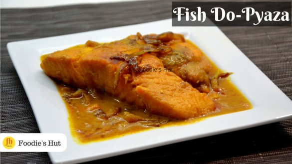 fish do pyaza - recipe by Foodie's Hut