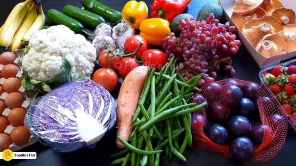Fruits and Veggies from Farmers Market