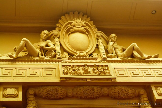 Old Senate session hall detail