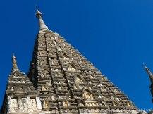 Mahabodhi Temple pyramidal tower