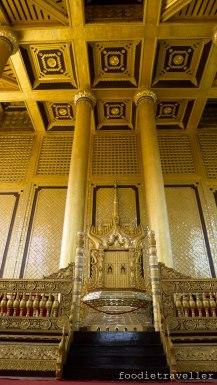 Kanbawzathadi Golden Palace - Lion Throne
