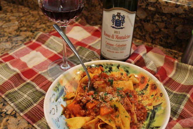 Veal Bolognese