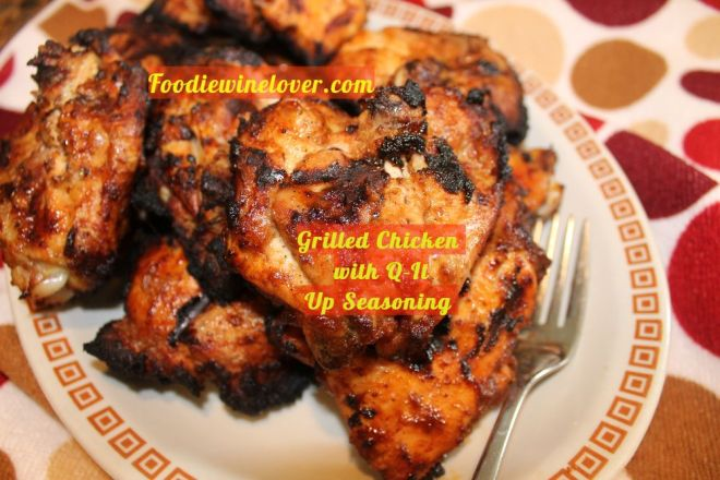 QItUpSeasonsing Grilled Chicken