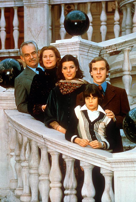 Monaco's Prince Rainier and Family