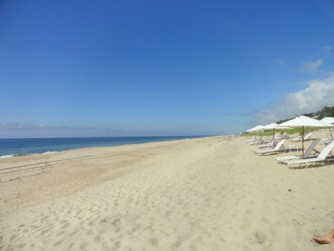 Pristine beach in Montauk