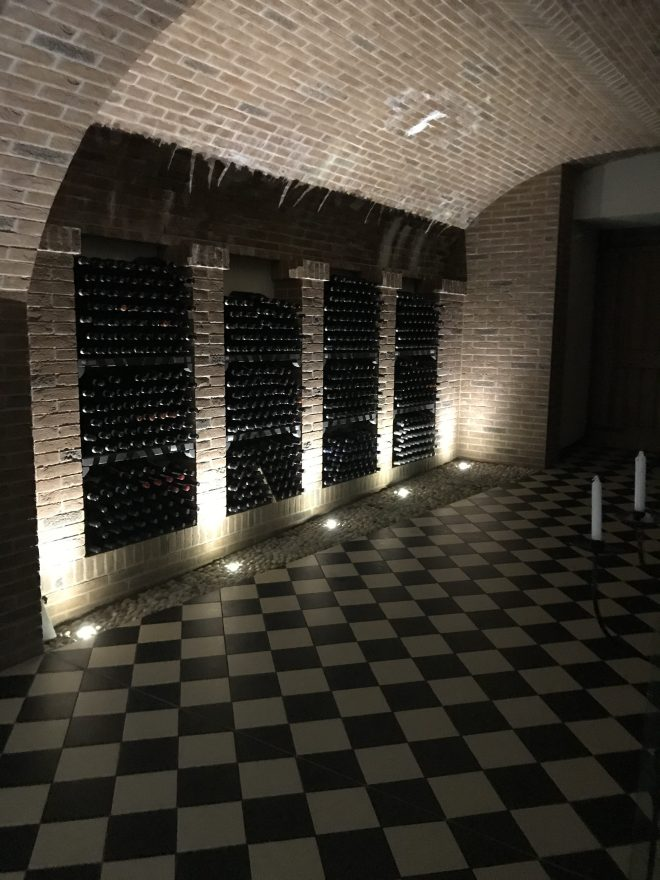 Ca del Baio Wine Room