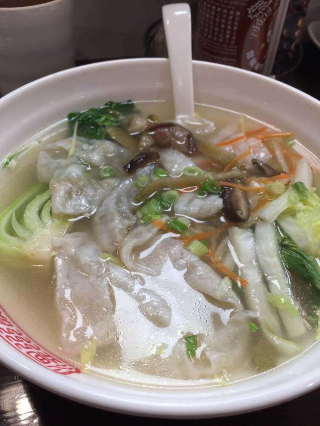 Wenzhou Silky knocked fish noodle soup