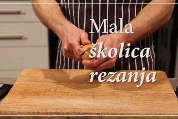 VIDEO - U epizodi 1 naše škole naučite kako rezati luk i češnjak