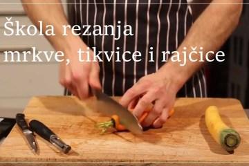 VIDEO - U epizodi 2 naše škole naučite kako rezati mrkvu, tikvicu i rajčicu