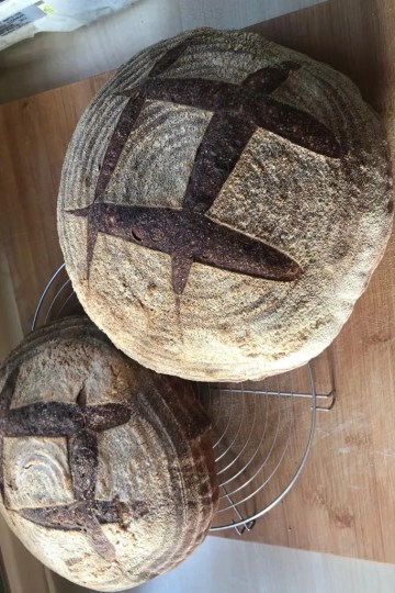 Raženi kruh od kiselog tijesta - artisan sourdough