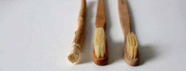 Četkica za zube je odličan alat za čišćenje gljiva