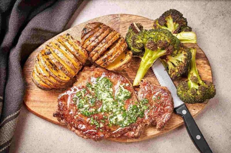 Odležani rib eye steak
