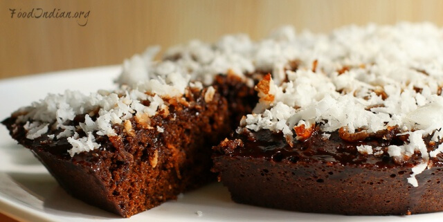 chocolate coconut cake 11